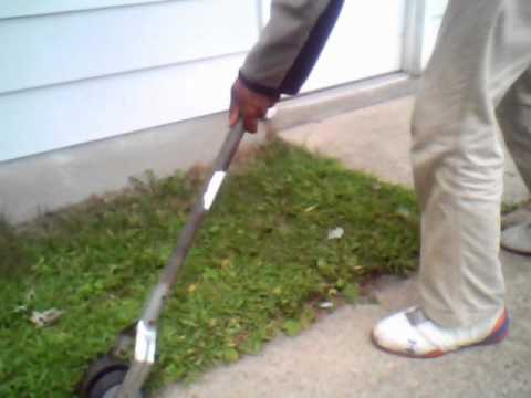 manual lawn edgers tips youtube rh youtube com Manual Edger Wheel how to use a manual rotary lawn edger