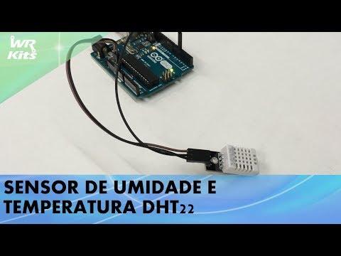 SENSOR DE UMIDADE E TEMPERATURA DHT22 COM ARDUINO