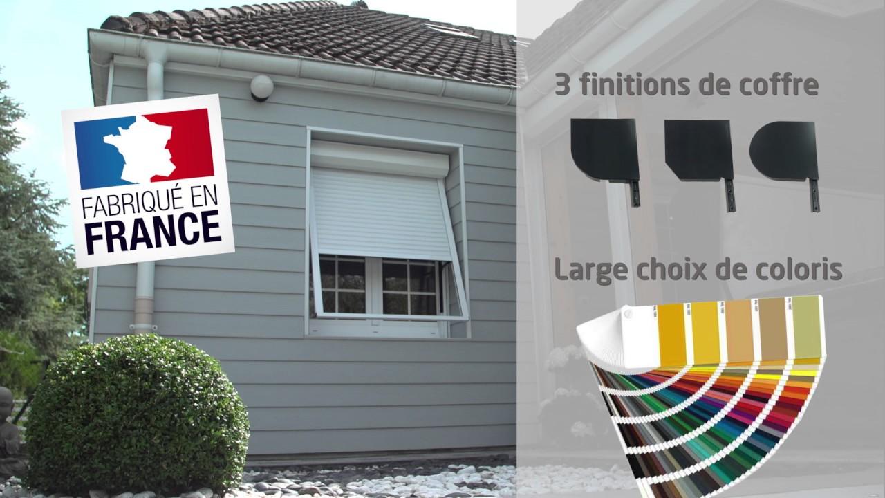 volet roulant projection motoris e pr sentation zurfl h feller youtube. Black Bedroom Furniture Sets. Home Design Ideas