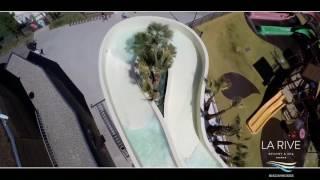 Parc aquatique du camping Resort & Spa La Rive