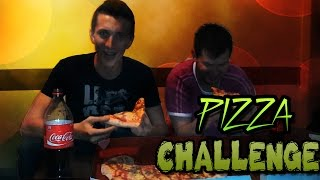 PIZZA CHALLENGE - WHO CAN EAT FASTER  w/EdinCreations