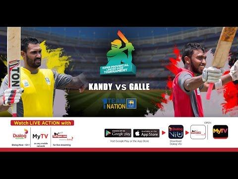 Kandy vs Galle – SLC Super Provincial Limited Over Tournament 2017