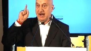I will vote for Rahul if he becomes one tenth of Modi: Anupam Kher at The Telegraph National Debate