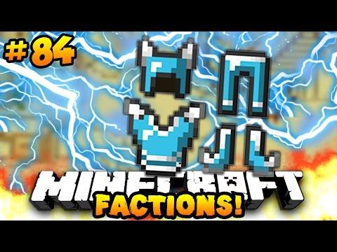 """Minecraft FACTIONS VERSUS """"NEW GOD GEAR!!"""" #84 w/ PrestonPlayz"""
