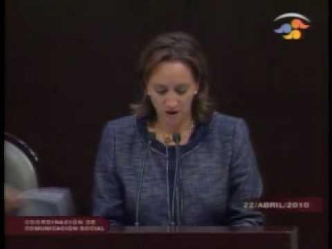 Intervención de la Dip. Claudia Ruíz Massieu Salinas 22 Abril 10.mp4