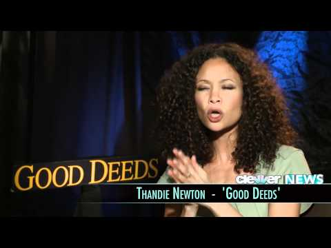 Thandie Newton Interview - Good Deeds
