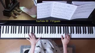 使用楽譜;ぷりんと楽譜・上級(採譜者:内田美雪)、 2017年8月14日 録画.
