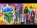 DID THEY ALL JUST DIE?! - The Sims 4 Youtuber Hunger Games - Season 4 - Ep.6