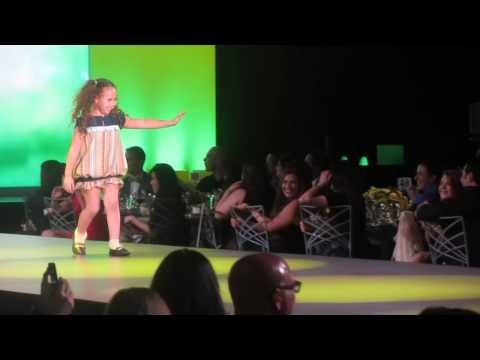 Kayla Pincus walks the catwalk for FIDM