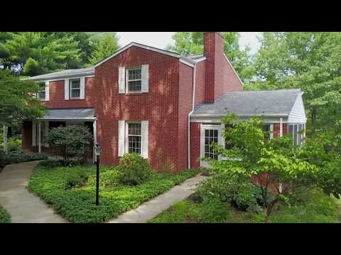 Brick Home with Flourishing Gardens in Wexford, PA