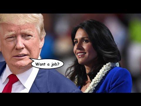 Should Tulsi Gabbard Accept a Position in Trump