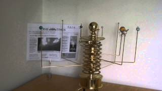 Build a Model Solar System Orrery Time Lapse - May 2013