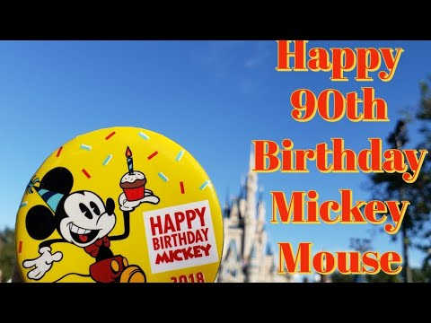 Mickeys 90th Birthday