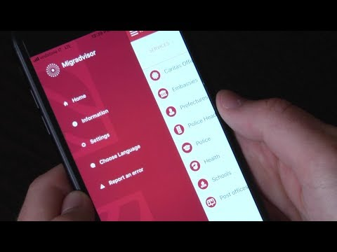 MigrAdvisor, new app allowing migrants to find relevant help centers