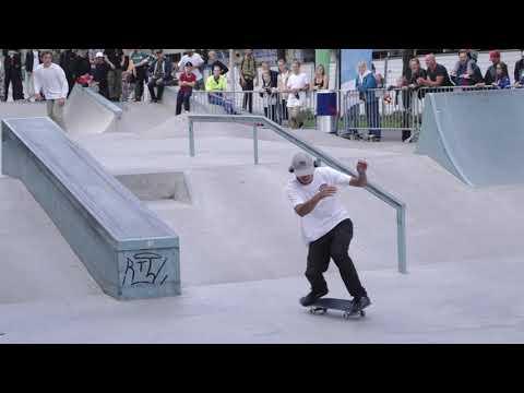 RTM World Cup Skateboarding Rotterdam Finals (Sewa Kroetkov, Ivan Monteiro, Benjamin Garcia)