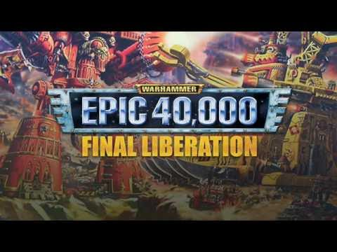 Epic 40,000: Final Liberation - Cover