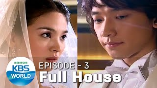 Full House Ep. 03 |Drama Nostalgia|SUB INDO|Siaran KBS World TV