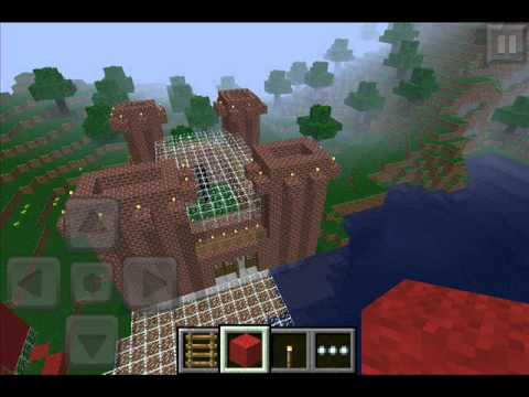 how to build an underwater house in minecraft pe