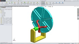 Solidworks tutorial | motion Study (Animation) in Solidworks