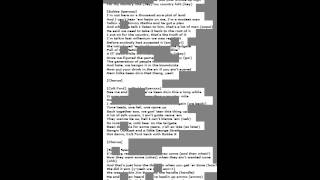 Country Folks Colt Ford Bubba Sparxxx & Danny Boone lyrics in description Resimi