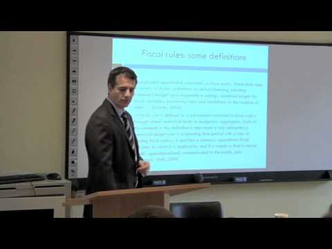 Andres Velasco - Fiscal Policy in an Emerging Market Economy