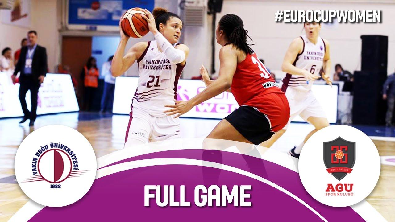 Yakin Dogu Universitesi (TUR) v Bellona AGÜ (TUR) - Finals - Full Game -  EuroCup Women 2016 17 f59fcec26f