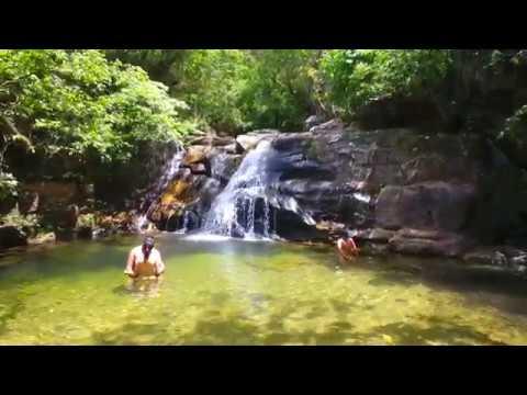 Drone Cachoeiras da Fazenda Bonsucesso - Pirenópolis - GO