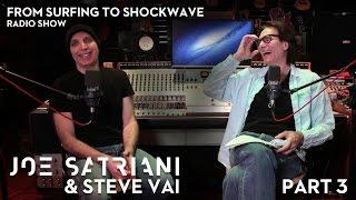 Joe Satriani & Steve Vai: From Surfing To Shockwave (Part 3)