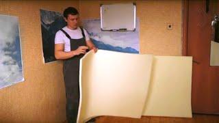 7 Режем поролон. Как сделать диван Еврокнижка своими руками.