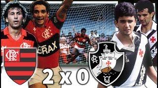 [ Em HD ] Flamengo 2 x 0 Vasco * Zico vs Bebeto e Tita * Brasileiro 1989 * Gols e Melhores Momentos