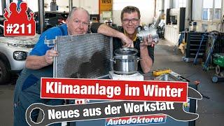 Klimaanlage im Winter: freie Scheiben und längere Lebensdauer! & So reinigt man die Klimaanlage