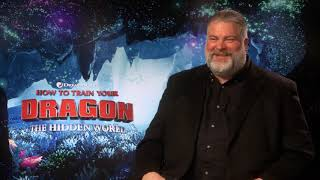HOW TO TRAIN YOUR DRAGON - THE HIDDEN WORLD - DEAN DEBLOIS TALKS WITH MARC ZAMMIT