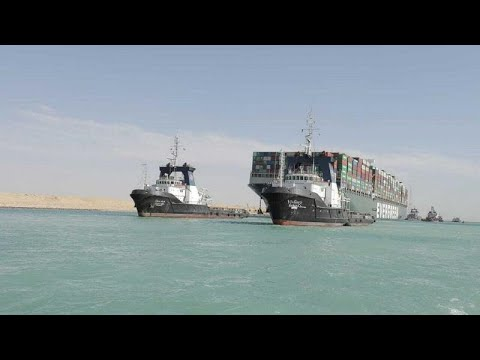 Egypt strikes deal with Ever Given owner to free giant container ship
