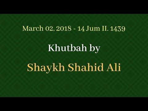Khutbah 03/02/2018