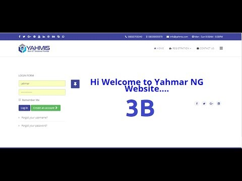 Web Design 3B. Template Top Bar Contact Information and Styles