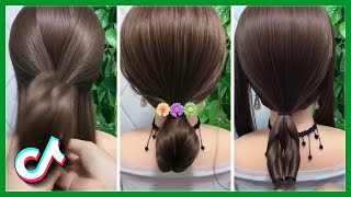 Trendy TikTok Hairstyle Video GIRL Easy 👩🦰 Hot Hair Trends Compilation