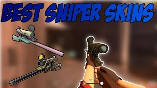 Top 5 Weapon skins in TF2 #3 - Top 5 Sniper Rifle Skins!