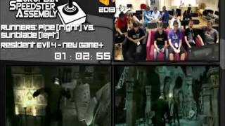 Resident Evil 4 - Race in 01:39:45 by Sunblade vs. PIPe Live for European Speedster Assembly 2013