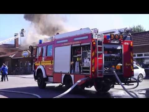 [Einsatz] GROSSBRAND in GRONAU | Mehrere Feuerwehren im Einsatz
