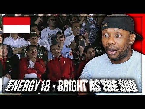 Energy18 - Bright As The Sun - Official Song Asian Games 2018 REACTION!!!