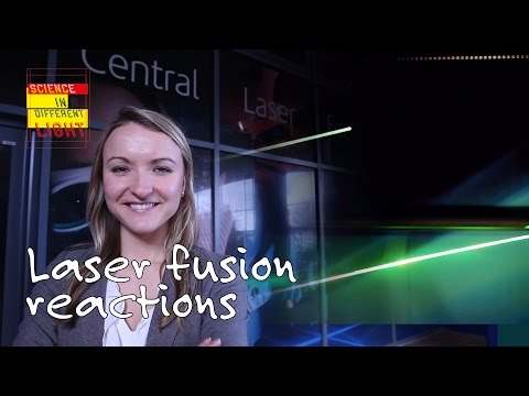 Can a laser drive fusion reactions on Earth? | Science in a different light