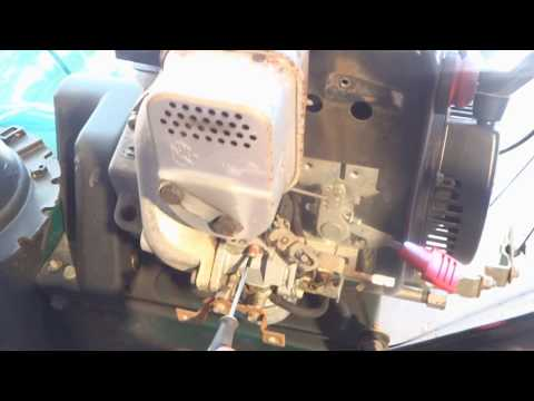 HOW TO REPLACE Snowblower Throttle Spring | FunnyDog.TV