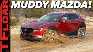 Here's What Happens When We Take The New 2020 Mazda CX-30 Off-Road: It Did Surprisingly Well!