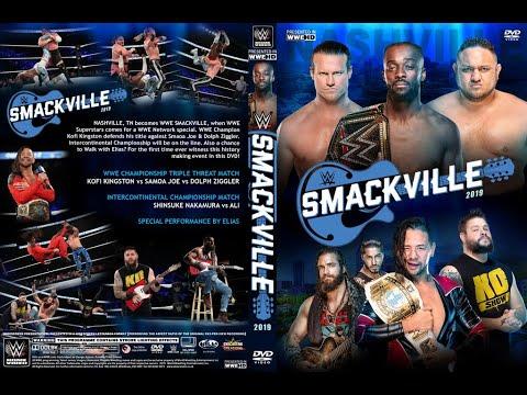 Download WWE Smackville - WWE 2K19 Universe Mode Full Card Playthrough
