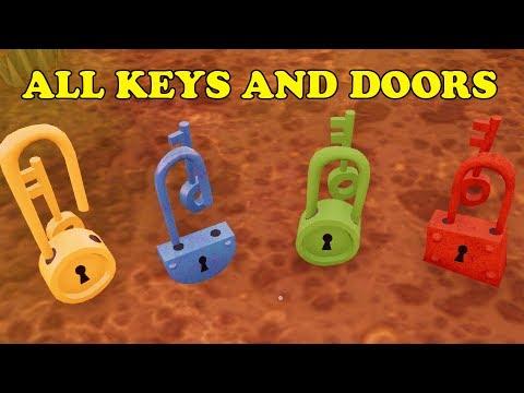 Hello Neighbor All Keys and Doors Location