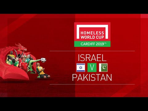 Israel vs Pakistan| Day 1, Pitch 3 | Homeless World Cup 2019