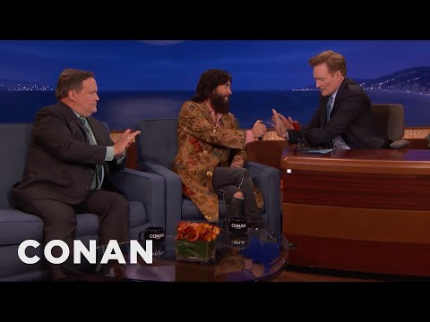 Jared Leto Disinfects Conan & Andy  - CONAN on TBS