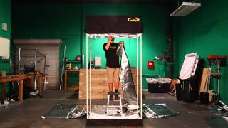 How to Setup Gorilla Grow Tent Grow Room!!!