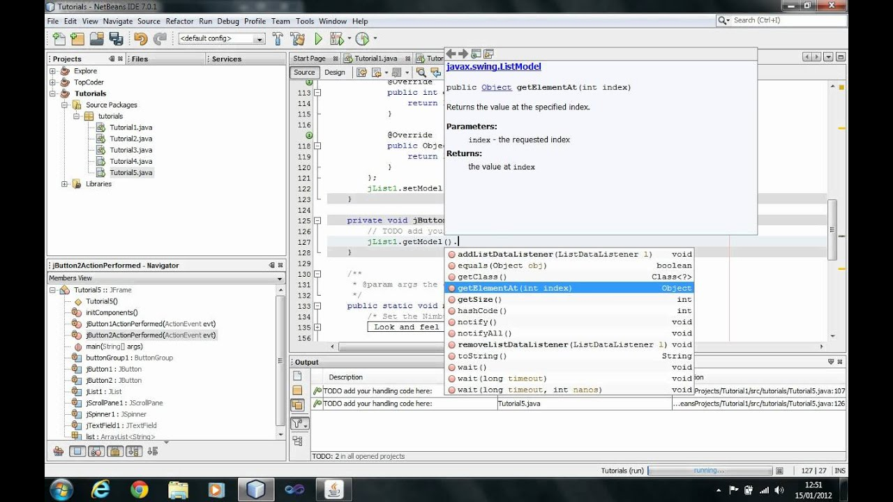 Java tutorial gui part 2 using common controls radiobutton java tutorial gui part 2 using common controls radiobutton list combobox session 10 baditri Image collections