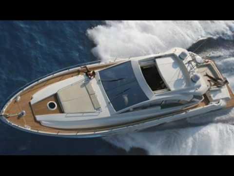 Charter motor yacht Aicon 62 Open in Greece.wmv